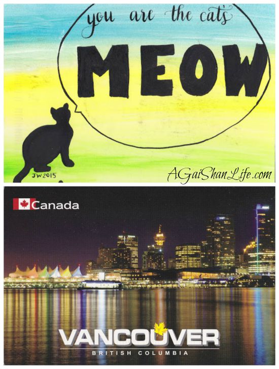 Postcards: You are the cat's meow, Vancouver BC