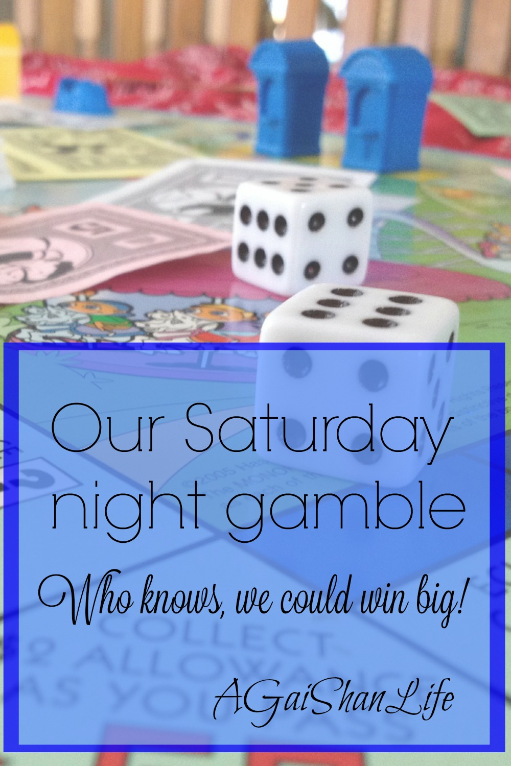 Our Saturday night gambling: Can we win anything awesome from this shop & Monopoly game?