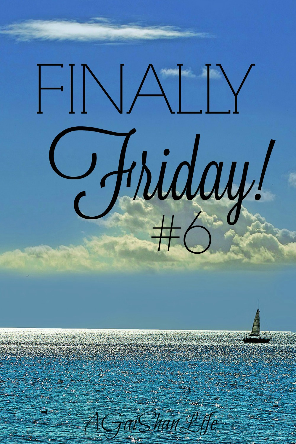 Finally Friday 6: How do you make time for yourself?