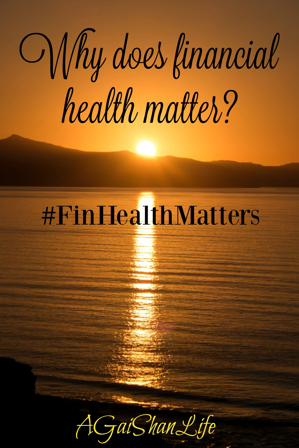 Why financial health matters to us: please share with the #FinHealthMatters tag