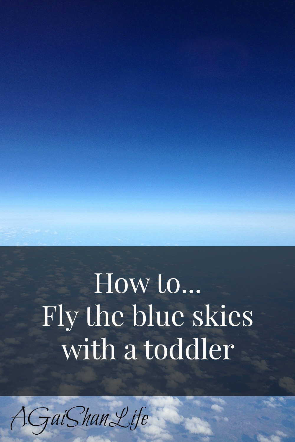 How to fly with a toddler