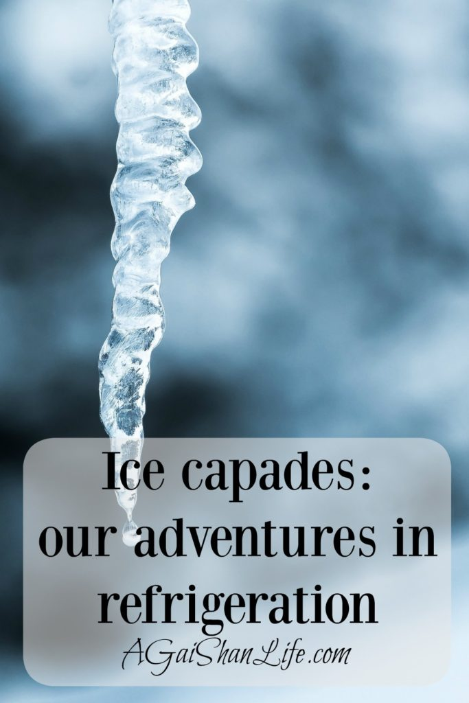 Ice capades: our adventures in refrigeration