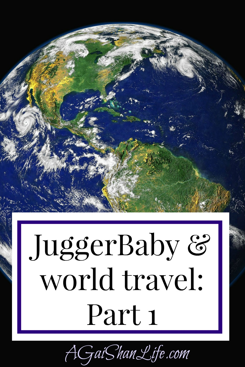 Going international with JuggerBaby: Part 1