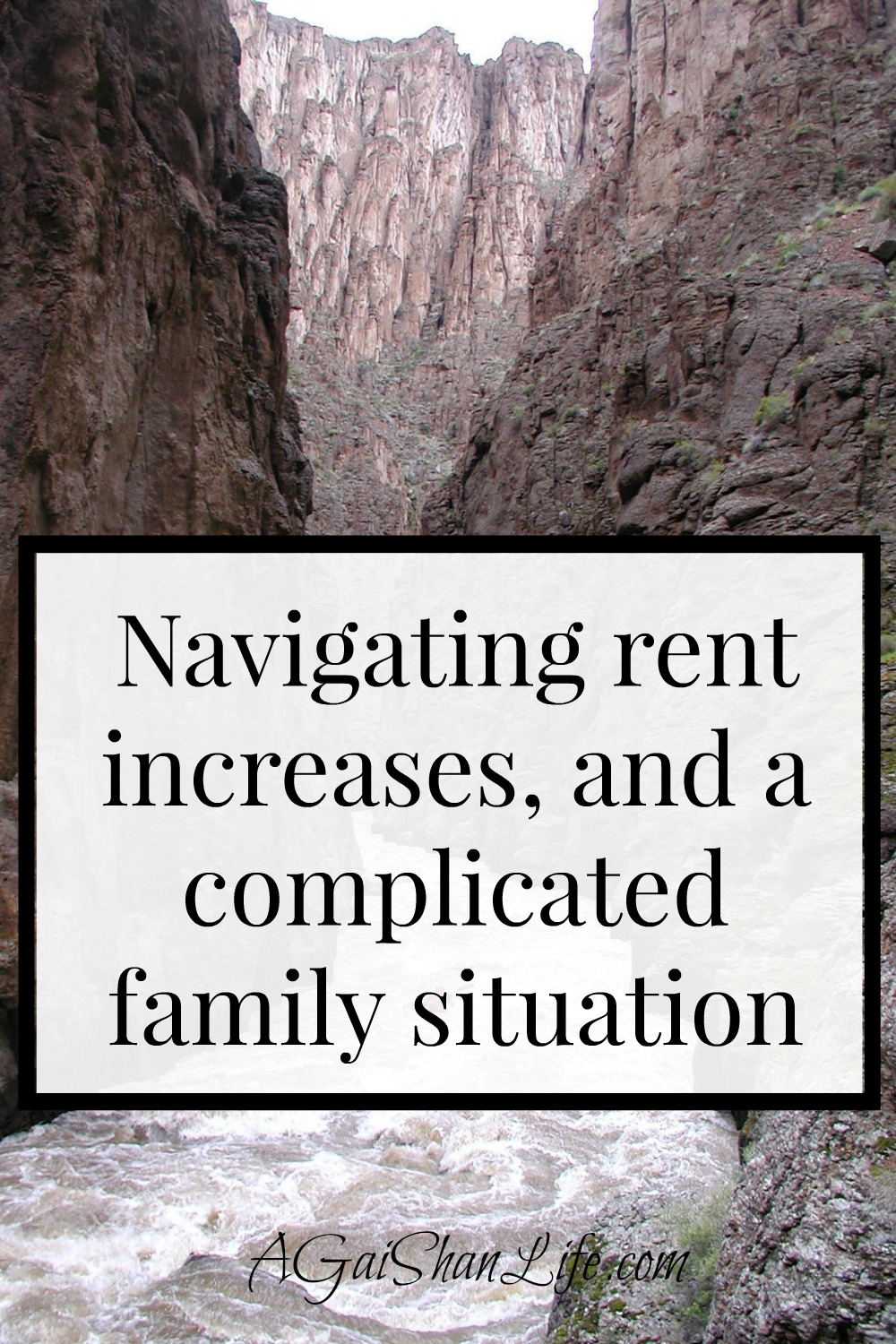 Navigating rent increases and a complicated family situation