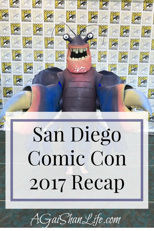 SDCC 2017 Recap